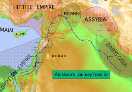 abraham journey map