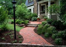 pictures of brick walkways