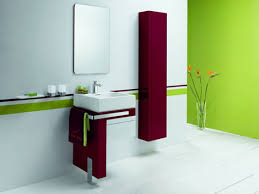 Combination of solid color and modern bathroom design - Bathrooms