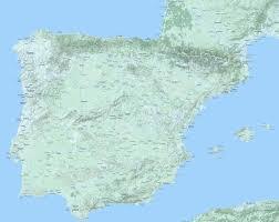big map of spain