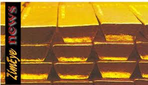 blocks of gold