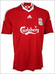 liverpool football club jersey