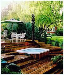 hot tub patios