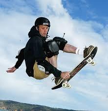 skateboarding tony