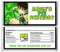 ben ten birthday