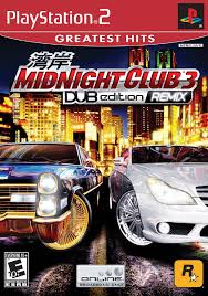 midnight club los angeles remix ps2