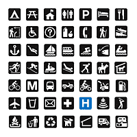 international map symbols