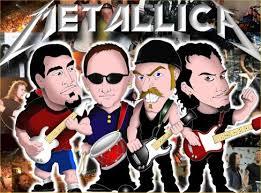 metallica cartoon