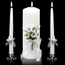 calla lily unity candles