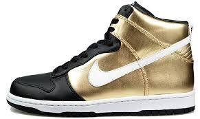 nike dunk high premium gold