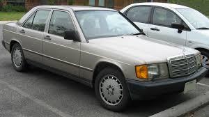 1987 mercedes benz 190e