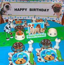 puppy birthday parties