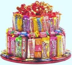 happy birthday candy