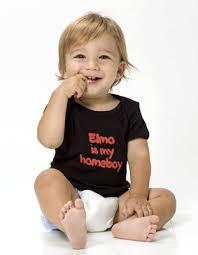 elmo as a baby