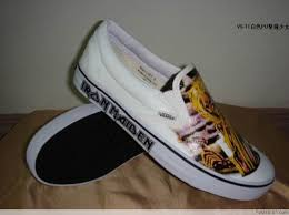 iron maiden shoes vans
