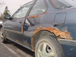 car rusting