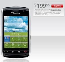blackberry storm nextel