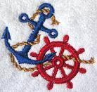 nautical towels