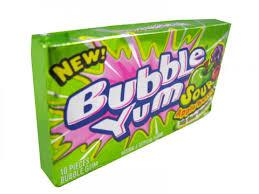bubble yum gum