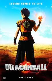 dragon ball evolution movie poster