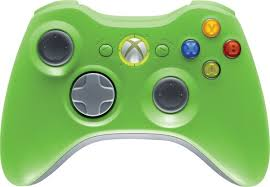 green xbox controllers
