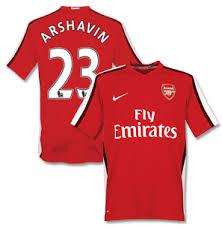 arsenal shirt 2009