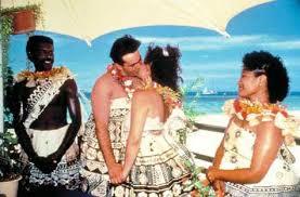 Matrimonio con tradizionali costumi fijani