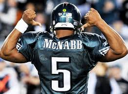 of Donovan McNabbs jersey