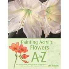 painting acrylic flowers