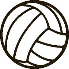 clip art volleyball