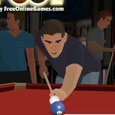 mini pool game