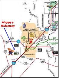 disney world road map