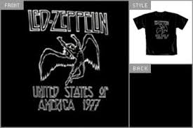 led zeppelin swan song t shirt