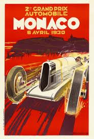 Monaco Grand Prix, 1930 Poster