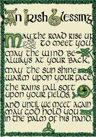 irish blessing tattoos