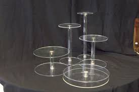 floating cake stands