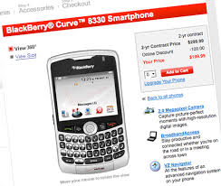 blackberry curve ball