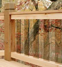 deck glass rails