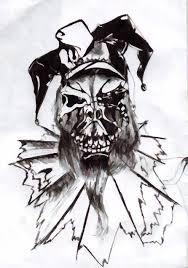 joker skeleton