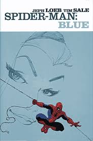spiderman blue