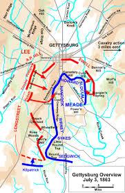 gettysburg battle map