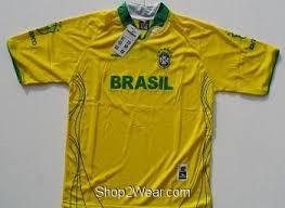 brasil soccer shirts