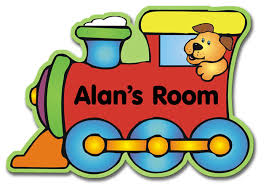 child name plate