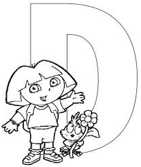 alphabet dora