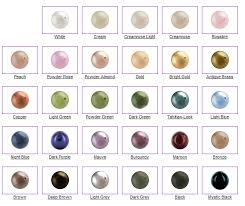 pearls colors