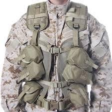 enhanced tactical load bearing vest