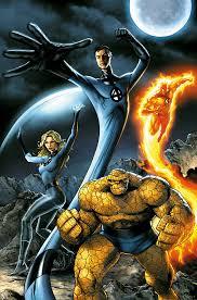 fantastic four comic books