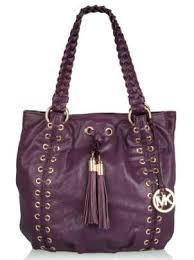 michael kors purple purse