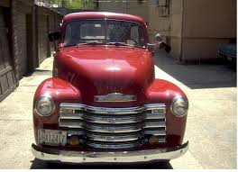 51 chevy pick up