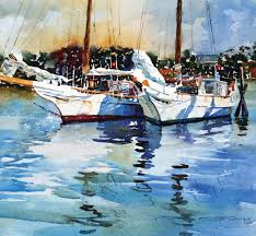 painting with water color